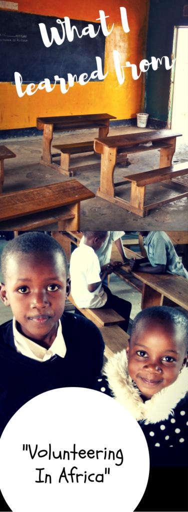 Volunteering In Africa - The Travel Captain
