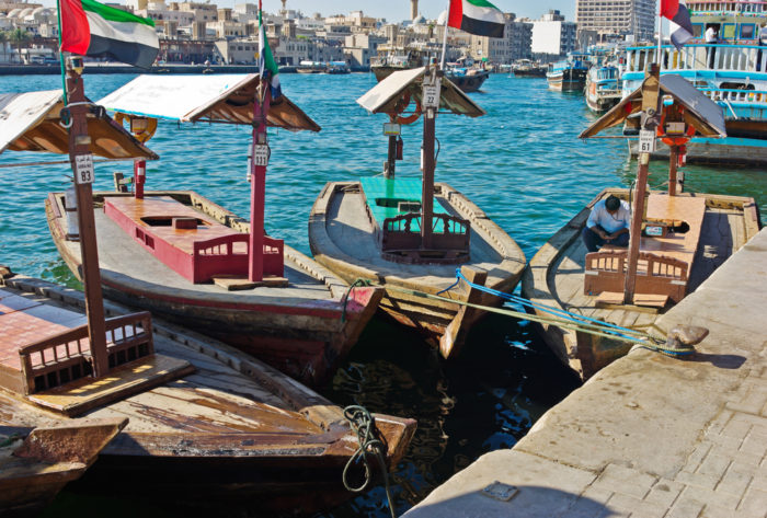 Abra at Dubai Creek