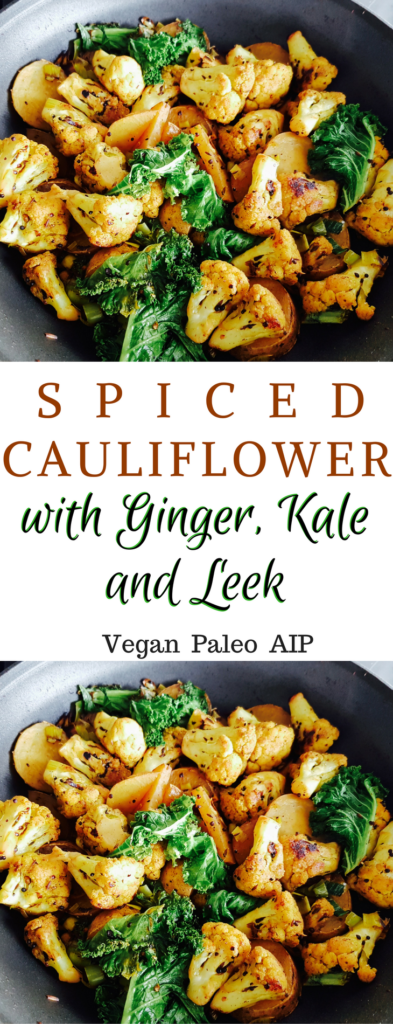 Spiced Cauliflower with Potato
