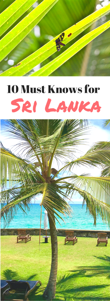 Tips for Sri Lanka