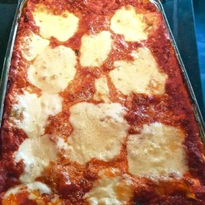 cooking Italian food
