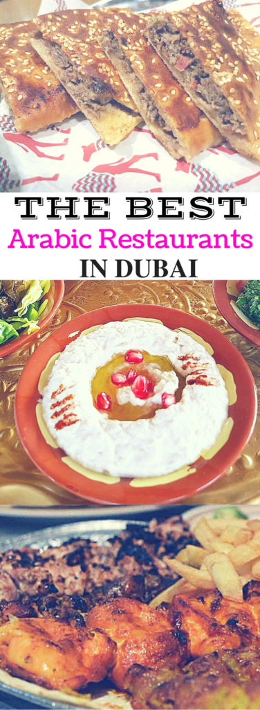 Best Arabic Restaurants in Dubai - The Travel Captain