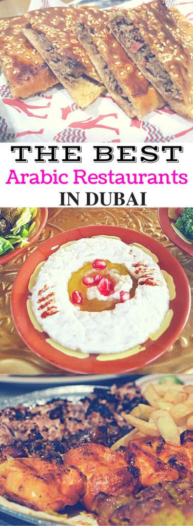 Best Arabic Restaurants in Dubai - The Travel Captain