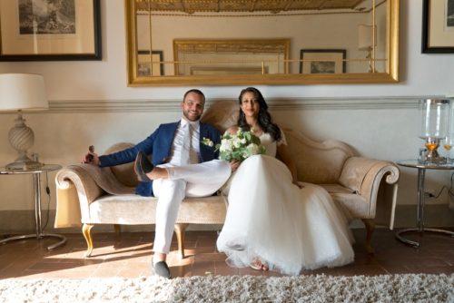 Italian Wedding at Villa Vistarenni