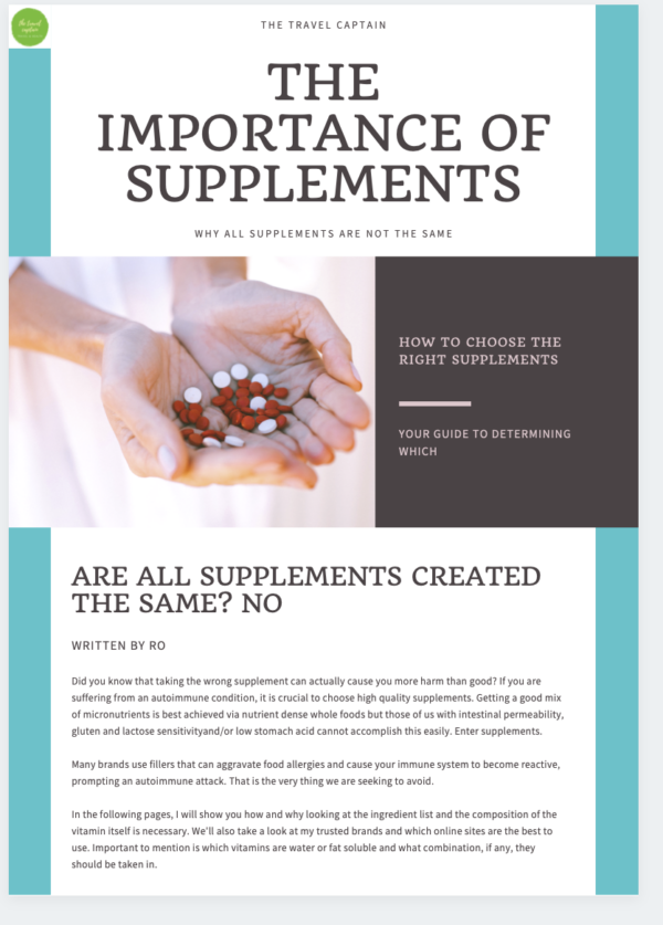 Supplements Guide for Hashimoto's Disease