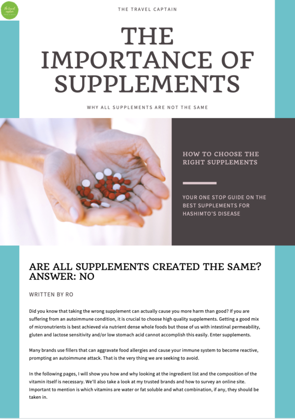 The Best Supplements for Hashimoto's Disease